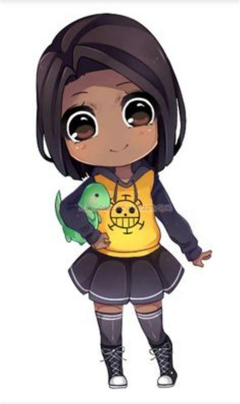 image result  chibi black girl black anime characters