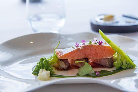 Singapore Best Restaurants Jaan Confit Rainbow Trout