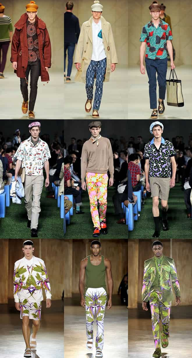 Wild Prints and Patterns on Mens Spring/Summer Runways