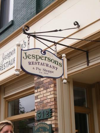 Jesperson's Restaurant Petoskey Michigan