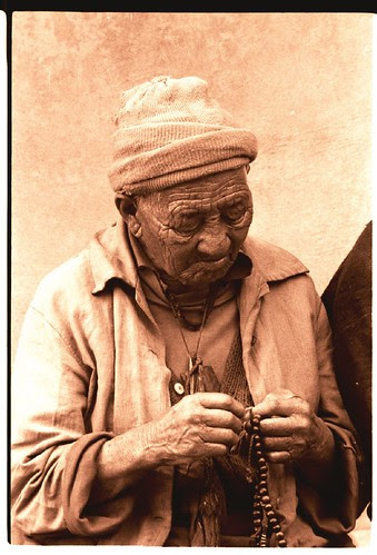 grandpa with rosary