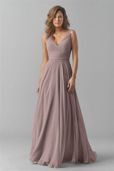 Shop Watters Bridesmaid Dress   8542i in Crinkle Chiffon