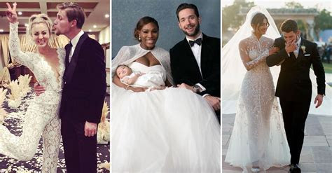The 54 Best Celebrity Wedding Dresses of All Time