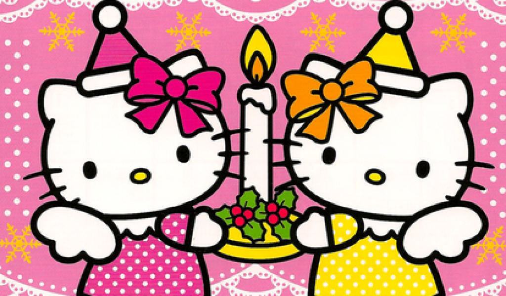 Hello Kitty Birthday Wallpaper Wallpapersafari