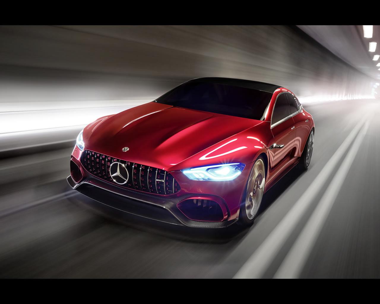 Mercedes-Benz AMG GT Hybrid Concept 2017