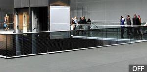 LG Transparent Color LED film display-OFF