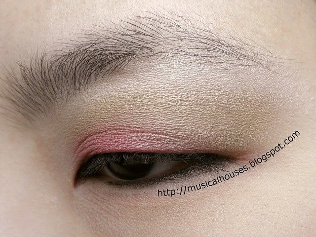 Pink Green Eyeshadow Valentines Day 3