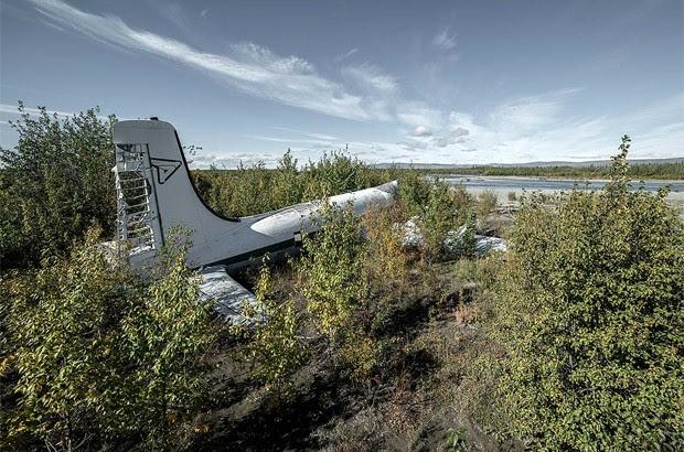 Aeronave encontrada nos Estados Unidos (Foto: Dietmar Eckell)