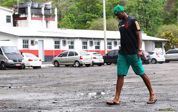 Felipe no treino do Flamengo (Foto: Jorge William / Ag. O Globo)
