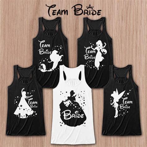 Disney bridal shirts! Choose your princess!   Wedding