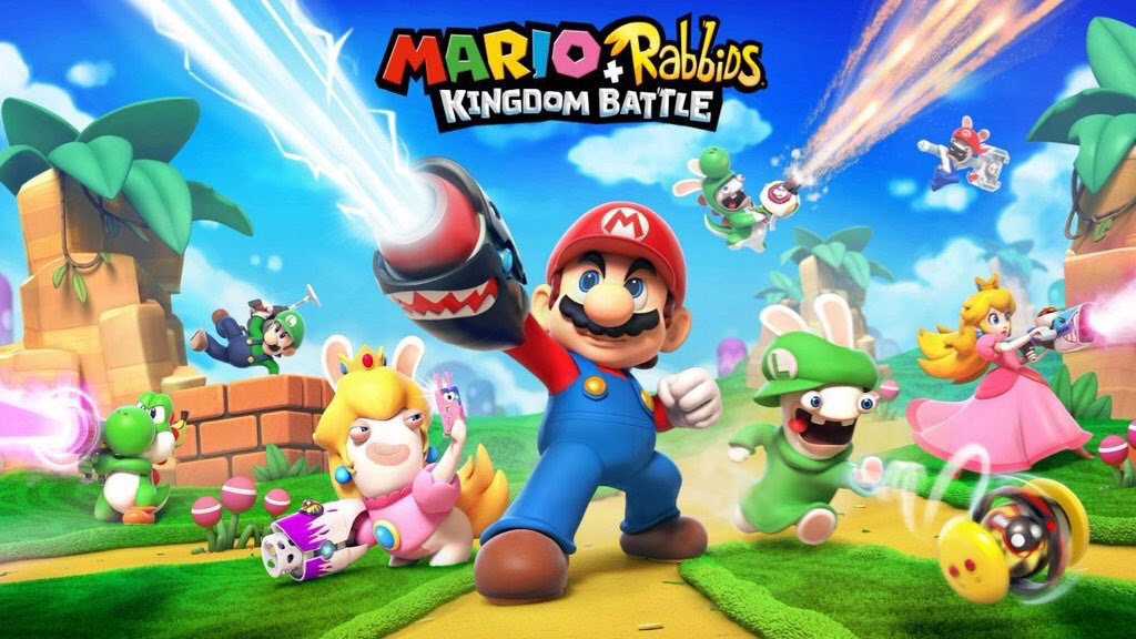 So this is Mario + Rabbids Kingdom Battle, huh? screenshot