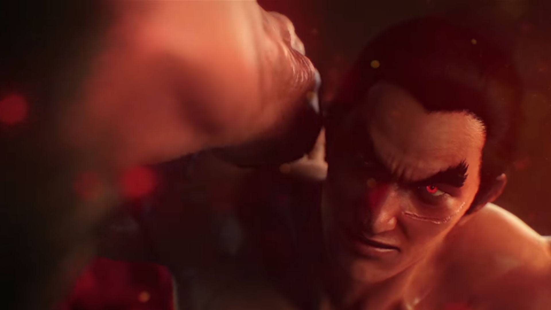 I don't know what's going on in this Tekken 7 story trailer, but I'm here for it screenshot