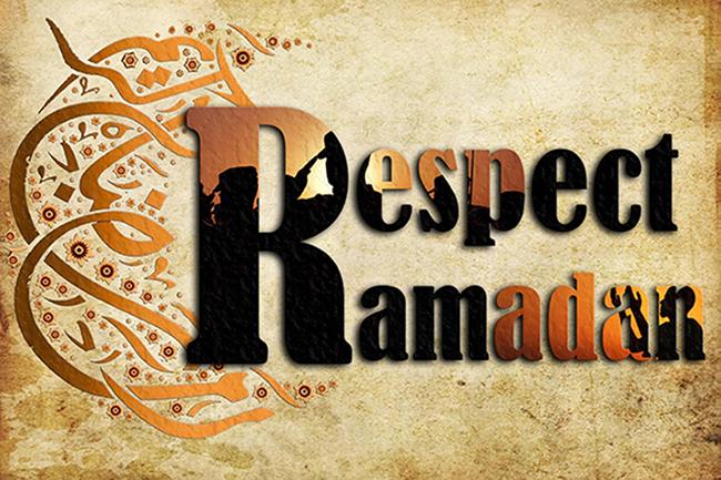Respect Ramadan