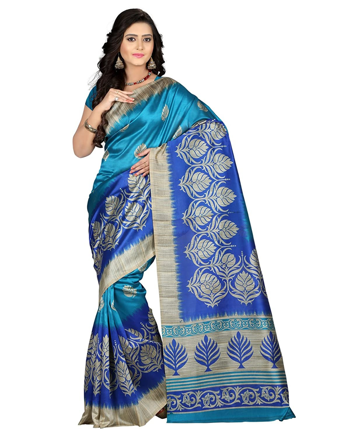 e-VASTRAM Women's Mysore Art Silk Saree
