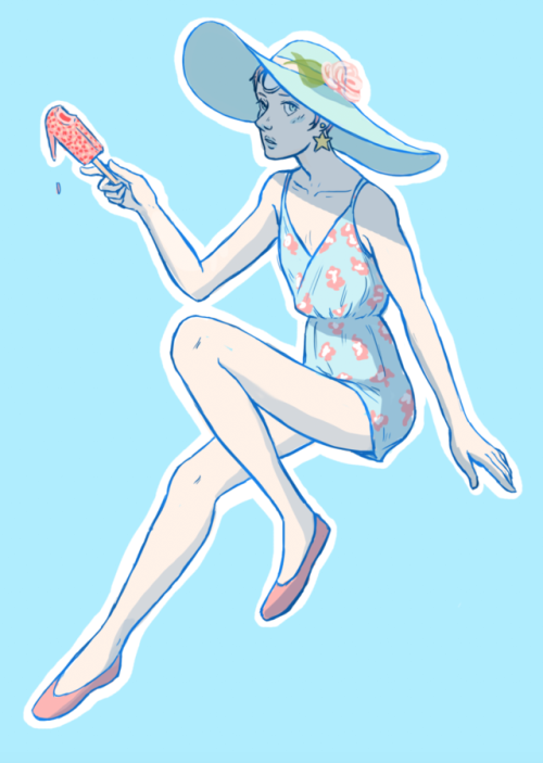 it's almost my favorite season so here's a summery pearl