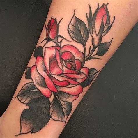 beautiful rose tattoo derick montez idle hand tattoo