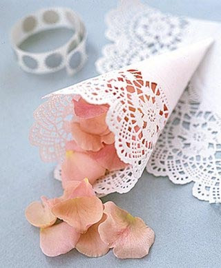 wedding paper doilies2 Wedding Decor with Paper Doilies – High on Style, Easy on the Budget