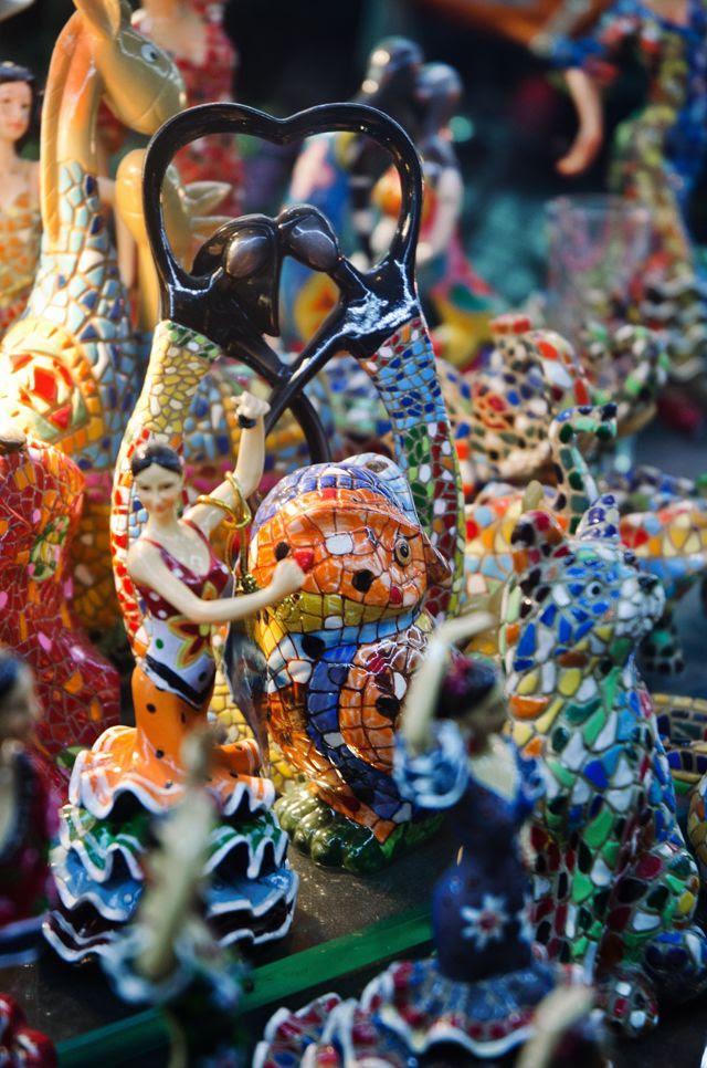 Mosaic Souvenirs Barcelona [enlarge]