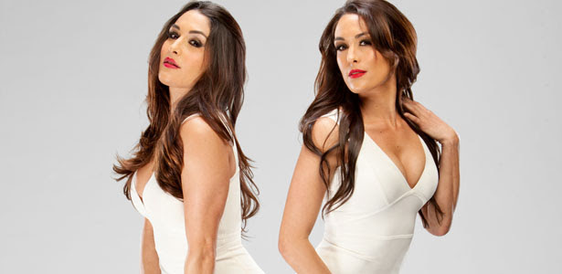 Photo The Bella Twins Showing Each Other Some Sisterly Love Pwmania
