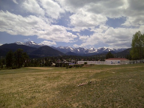 Colorado Mountains of Estes Park