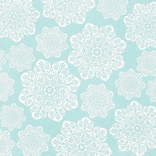 15 batik flower Snowflakes various sizes 12 and a half inch SQ 350dpi