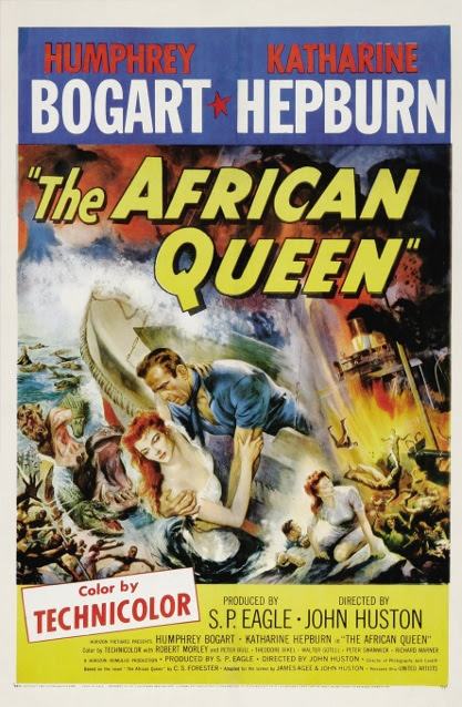Poster - African Queen, The_01