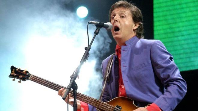 Sir Paul McCartney to headline Glastonbury's 50th anniversary in 2020