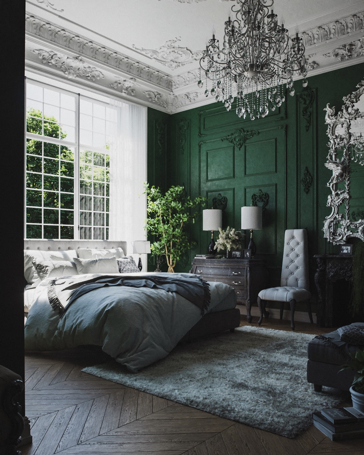 51 Green Bedrooms With Tips And Accessories To Help You Design Yours