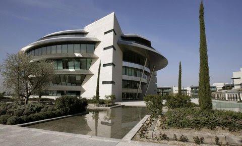 Centro Financiero del Banco Santander Central Hispano en Boadilla del Monte. EFE