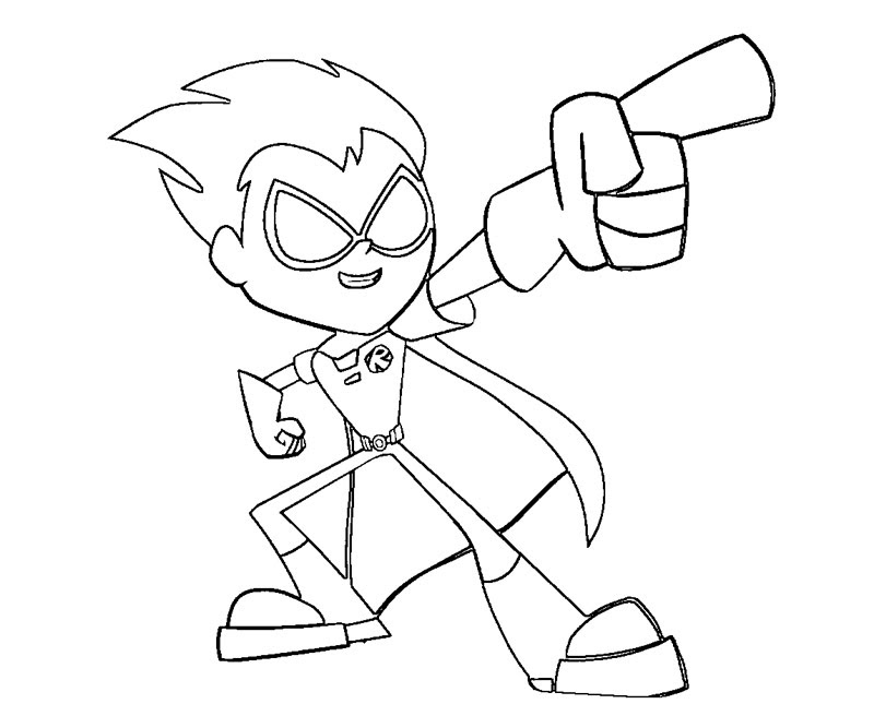 Teen Titans Go Drawing At Getdrawingscom Free For Personal Use