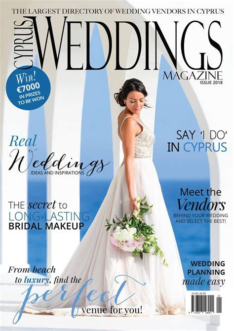Cyprus Weddings Magazine   Marrying In Cyprus, Planning
