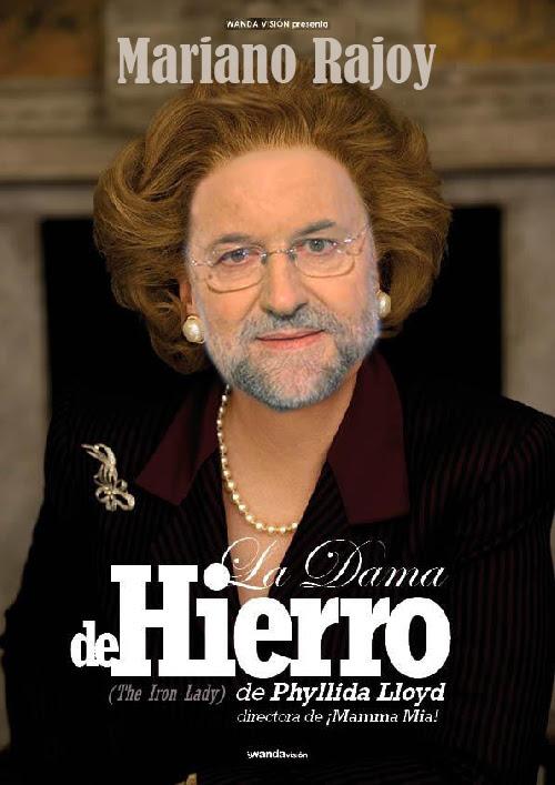 rajoy, dama de hierro, pelicula, politica, pp