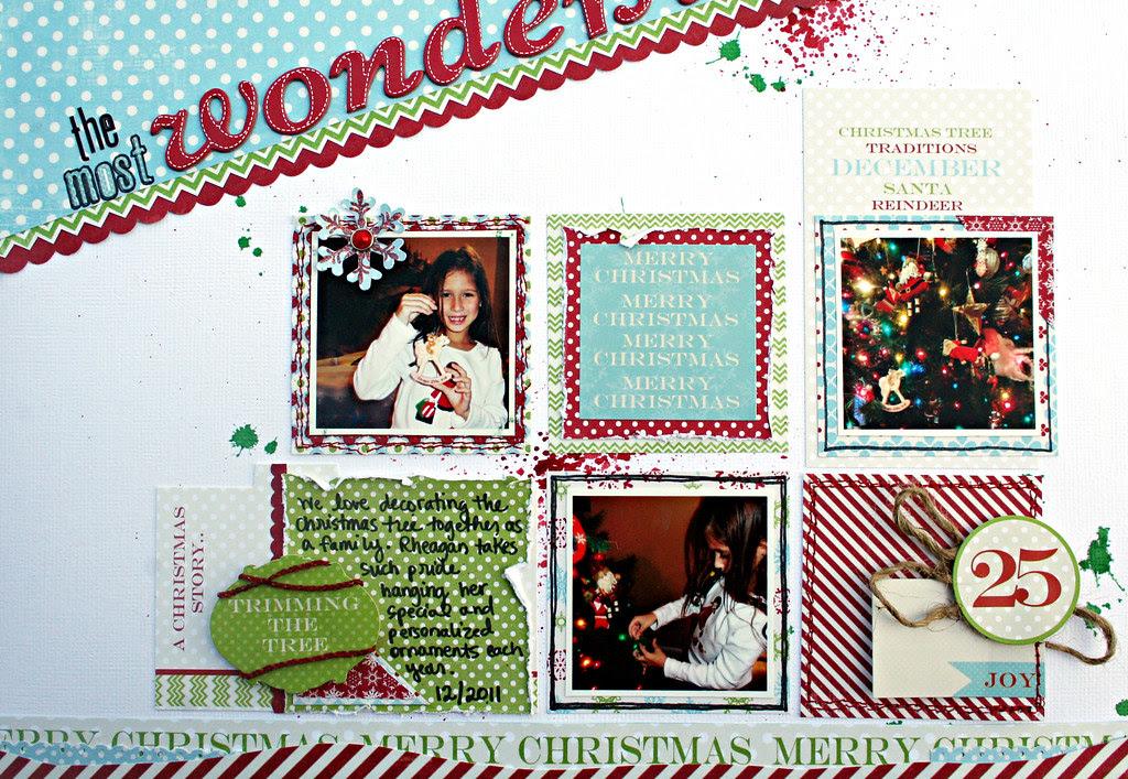 wonderful year photos journaling