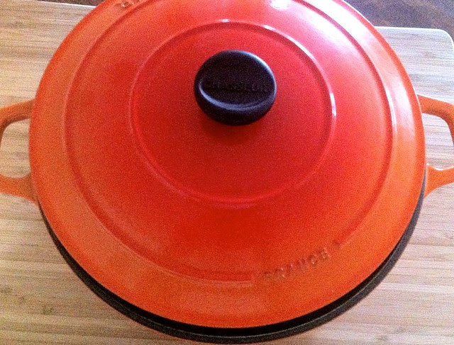 Enamled Cast Iron Dutch Oven