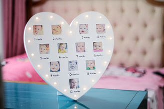 Quality Baby Clay Frame Baby Hand And Footprint Photo Frame