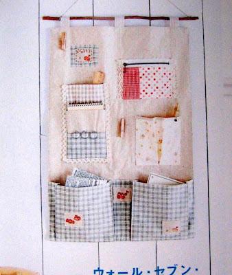 porta coisas tecido costura