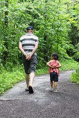 A walk in Gatineau Park...