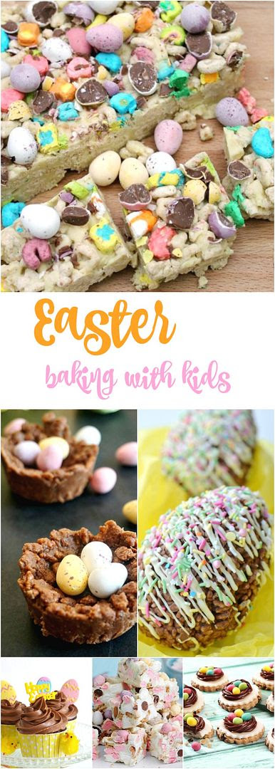 Last Minute Easter Treats - Baking with kids