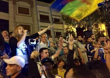 Quinta jornada de protestas pacíficas en Alhucemas