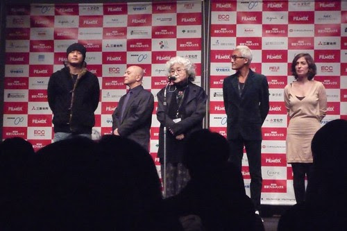 Tokyo Filmex Competition Jury: Nogami Teruyo, Tony Leung Ka-Fai, Song Il-Gon, Isabelle Regnier, Leon Cakoff