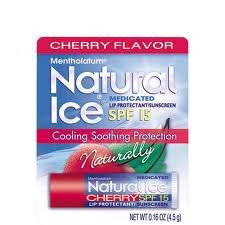 Natural Ice Cherry Chapstick