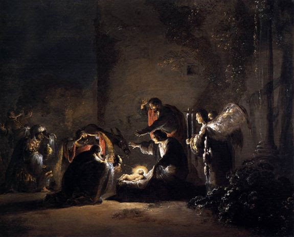 Leonaert Bramer 1628-30 l'adoration des Mages - musée de Détroit