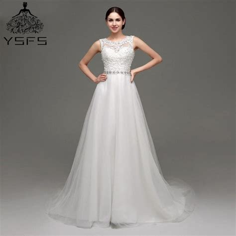 Free Shipping In Stock 100% Real Pic Cheap A Line Wedding