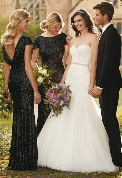 Don?t Miss These 22 Black Bridesmaid Dresses for Your Fall