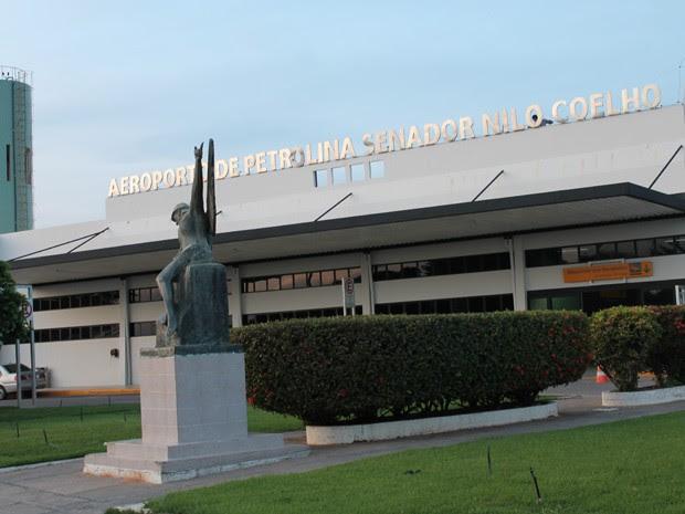 No Aeroporto de Petrolina a movimentação cresce no final do ano (Foto: Carol Souza/G1)