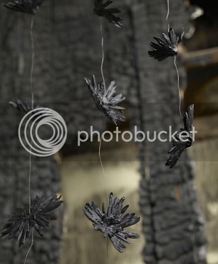 porcelain hanging flowers 1