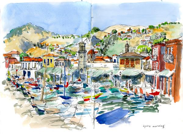 hydra boats