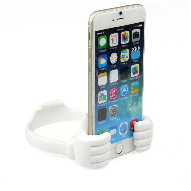 2017 Cute Thumb Desktop Phone Holder Stand For Mobile Cell ...