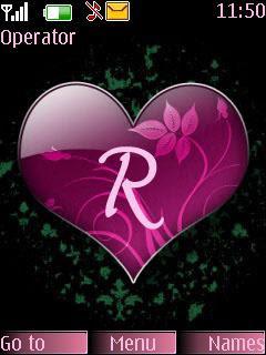 Love R Alphabet Wallpaper Hd Shajara