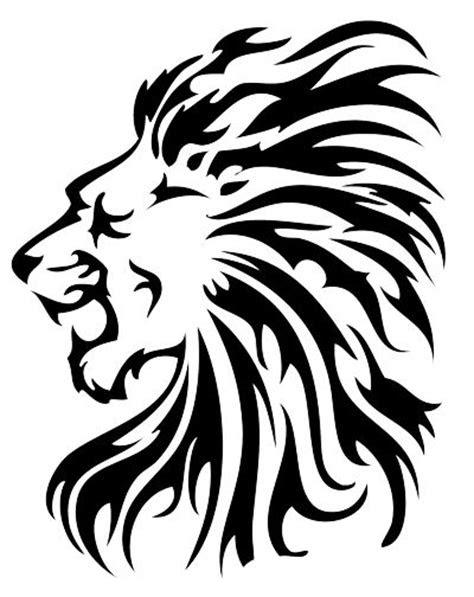 tribal lion tattoo ideas  pinterest mens lion